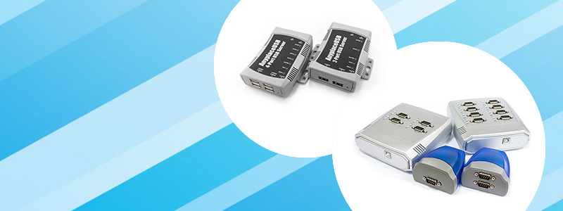 AnyplaceUSB USB over Ethernet Hub Series